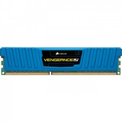 Corsair - CML8GX3M2A1600C9B - Corsair Vengeance 8GB DDR3 SDRAM Memory Module - 8 GB (2 x 4 GB) - DDR3 SDRAM - 1600 MHz DDR3-1600/PC3-12800 - Non-ECC - Unbuffered - 240-pin - DIMM