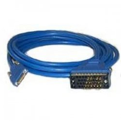 Cisco - CAB-SS-V35MT - Cisco Serial Data Transfer Cable - Serial - 10 ft - 1 x Male Serial - 1 x Male - Blue