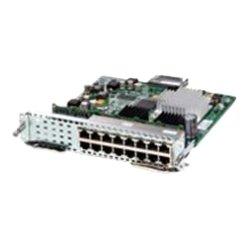 Cisco - SM-ES3-16-P-RF - Cisco SM-ES3-16-P Service Module - 15 x 10/100Base-TX LAN, 1 x 10/100/1000Base-T LAN100 Mbit/s