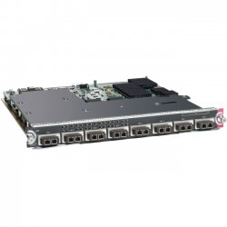 Cisco - WS-X6908-10G-2T= - Cisco Catalyst 6900 Series 8-Port 10 Gigabit Ethernet Fiber Module with DFC4 - 8 x X2 8 x Expansion Slots