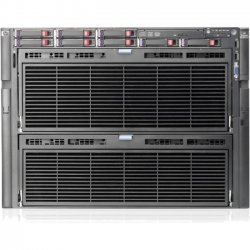 Hewlett Packard (HP) - AM448A - HP ProLiant DL980 G7 8U Rack Server - 4 x Intel Xeon E7-2860 Deca-core (10 Core) 2.26 GHz - 128 GB Installed DDR3 SDRAM - Serial Attached SCSI (SAS) Controller - 0, 1, 5, 6, 10, 50, 60 RAID Levels - 4 x 1200 W - 8 Processor