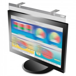 Kantek - LCD24WSV - Kantek LCD Privacy/antiglare Wide Screen Filters Silver - For 24Monitor