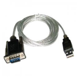 Sabrent - SBT-USC6K - Sabrent SATA to USB Cable - Serial - 1 x Type A USB - DB-9 Serial
