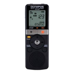 Olympus - V404130BU000 - Olympus VN-7200 2GB Digital Voice Recorder - 2 GB Flash Memory - Headphone - 1151 HourspeaceRecording Time - Portable