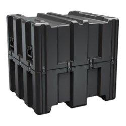 "Pelican - AL3834-1617-RP-032 - Hardigg Single Lid Empty Case - Internal Dimensions: 38.12"" Length x 34.12"" Width x 33"" Depth - External Dimensions: 41.1"" Length x 37.1"" Width x 38.8"" Depth - 185.82 gal - Stackable - Polyethylene - Black"