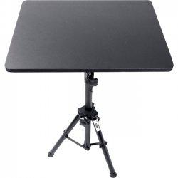 "Pyle / Pyle-Pro - PLPTS3 - PylePro PLPTS3 Pro DJ Laptop Tripod Adjustable Stand - 4"" Height x 16"" Width - Gloss - Steel, Wood - Black"