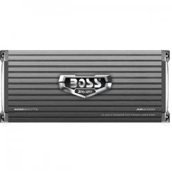 Boss Audio Systems - AR4000D - Boss Armor 4000W Monoblock, Class D Amplifier - Bridgeable - 105 dB SNR - 0% THD - 15 Hz to 150 Hz - MOSFET Power Supply - 750 W @ 4 Ohm - 1 x 1.50 kW @ 2 Ohm