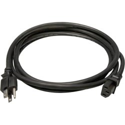 Hosa - PWC-415 - Hosa Technology Power Extension Cord - 125 V AC Voltage Rating - 15 A Current Rating - Black