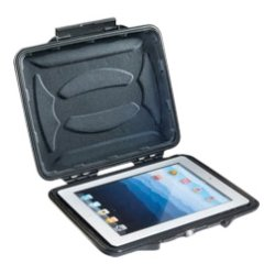 Pelican - 1065-003-110 - Pelican HardBack 1065CC Carrying Case for 10 iPad - Black - Crush Proof, Dust Proof - Plush Interior - 9.3 Height x 10.9 Width x 1.2 Depth
