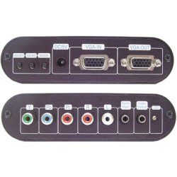 Calrad - 40-480 - Calrad Electronics 40 Signal Converter - Functions: Signal Conversion - VGA - Audio Line In - Audio Line Out