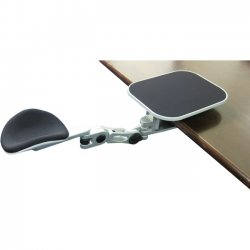 Ergoguys - EG-ErgoArm - Ergoguys EG-ErgoArm Ergonomic Adjustable Computer Arm Rest with Mouse Pad - Silver