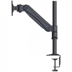 Doublesight - DS-30PH - DoubleSight Displays Flex DS-30PH Pole Style Single Monitor Arm TAA - 30 lb Load Capacity