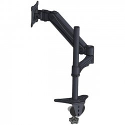"Doublesight - DS-30PHS - DoubleSight Displays Flex DS-30PHS Deluxe Pole Style Single Monitor Arm TAA - 30"" Screen Support - 30 lb Load Capacity"
