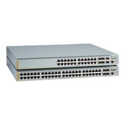 Allied Telesis - AT-X610-24TS/X-60 - Allied Telesis AT-X610-24TS/X Layer 3 switch - 24 Ports - Manageable - Stack Port - 8 x Expansion Slots - 10/100/1000Base-T - 24 x Network, 4 x Expansion Slot, 2 x Expansion Slot - Shared SFP Slot - 4 x SFP Slots - 2 x