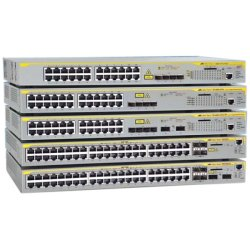 Allied Telesis - AT-X610-24TS-POE+ - Allied Telesis AT-X610-24TSPOE+ Layer 3 Switch - 24 Ports - Manageable - Stack Port - 6 x Expansion Slots - 10/100/1000Base-T - 24 x Network, 4 x Expansion Slot - Shared SFP Slot - 4 x SFP Slots - 3 Layer Supported -