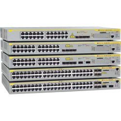 Allied Telesis - AT-X610-48TS/X-60 - Allied Telesis AT-x610-48Ts/X Layer 3 Switch - 48 Ports - Manageable - Stack Port - 6 x Expansion Slots - 10/100/1000Base-T - 48 x Network, 2 x Expansion Slot, 2 x Expansion Slot - Shared SFP Slot - 2 x SFP Slots - 2 x