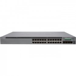 Juniper Networks - EX3300-24T-DC - Juniper EX3300-24T-DC Layer 3 Switch - 24 x Gigabit Ethernet Network, 4 x 10 Gigabit Ethernet Expansion Slot - Manageable - 3 Layer Supported - 1U High - Lifetime Limited Warranty