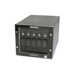 Addonics Technologies - RT3S5HEU3 - Addonics RAID Tower RT3S5HEU3 DAS Array - 5 x HDD Supported - 5 x Total Bays - USB 3.0 - 0, 1, 5, 10, JBOD, S RAID Levels