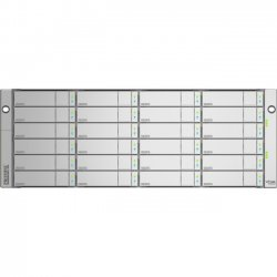 Promise Technology - E830FDNX - Promise VTrak E830fD SAN Array - 24 x HDD Supported - 24 x SSD Supported - Serial ATA, Serial Attached SCSI (SAS) Controller - 24 x Total Bays - Ethernet - Network (RJ-45) - Serial - Fibre Channel - 0, 1, 5, 6, 10, 50, 60,