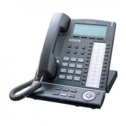 Panasonic - KX-T7636-B - Panasonic KX-T7636-B Digital Proprietary Telephone - 1 x Phone Line(s) - 1 x Headset, 1 x USB - Black