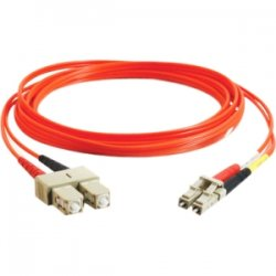 C2G (Cables To Go) - 11124 - C2G-10m LC-SC 62.5/125 OM1 Duplex Multimode Fiber Optic Cable (TAA Compliant) - Orange - Fiber Optic for Network Device - LC Male - SC Male - 62.5/125 - Duplex Multimode - OM1 - TAA Compliant - 10m - Orange