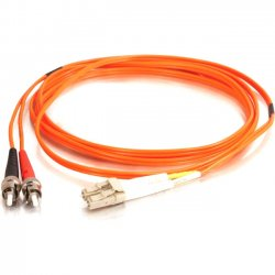 C2G (Cables To Go) - 11135 - C2G-9m LC-ST 62.5/125 OM1 Duplex Multimode Fiber Optic Cable (TAA Compliant) - Orange - Fiber Optic for Network Device - LC Male - ST Male - 62.5/125 - Duplex Multimode - OM1 - TAA Compliant - 9m - Orange