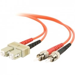 C2G (Cables To Go) - 11153 - 3m SC-ST 62.5/125 OM1 Duplex Multimode Fiber Optic Cable (TAA Compliant) - Orange - Fiber Optic for Network Device - SC Male - ST Male - 62.5/125 - Duplex Multimode - OM1 - TAA Compliant - 3m - Orange