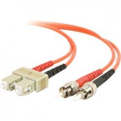 C2G (Cables To Go) - 11160 - 10m SC-ST 62.5/125 OM1 Duplex Multimode Fiber Optic Cable (TAA Compliant) - Orange - Fiber Optic for Network Device - SC Male - ST Male - 62.5/125 - Duplex Multimode - OM1 - TAA Compliant - 10m - Orange