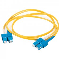 C2G (Cables To Go) - 11218 - 7m SC-SC 9/125 OS1 Duplex Singlemode Fiber Optic Cable (TAA Compliant) - Yellow - Fiber Optic for Network Device - SC Male - SC Male - 9/125 - Duplex Singlemode - OS1 - TAA Compliant - 7m - Yellow