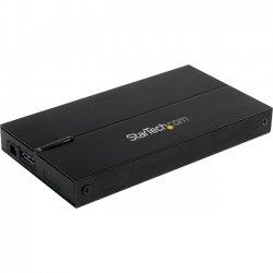 StarTech - SAT2510B12U3 - StarTech.com 2.5in USB 3.0 SATA Hard Drive Enclosure - 9.5/12.5mm HDD - Black