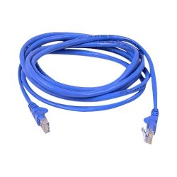 Belkin / Linksys - A3L980B14-BLU-S - Belkin Cat.6 Snagless Patch Cable - RJ-45 - RJ-45 - 14ft - Blue