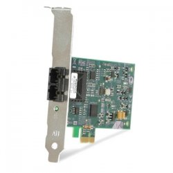 Allied Telesis - AT-2711FX/ST-901 - Allied Telesis AT-2711FX Fast Ethernet Fiber Network Interface Card - PCI Express x1 - 1 x ST - 100Base-FX