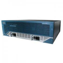 Cisco - CISCO3845HSECK9-RF - Cisco 3845 Integrated Services Router Chassis - 4 x Network Module, 4 x HWIC, 4 x PVDM, 1 x SFP, 1 x CompactFlash (CF) Card, 2 x AIM - 2 x 10/100/1000Base-T LAN, 2 x USB