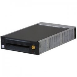 "CRU / Wiebetech - 8410-5002-0500 - CRU DataPort V Plus Removable Drive Enclosure - 1 x 3.5"" - 1/3H Internal - Internal - Black"