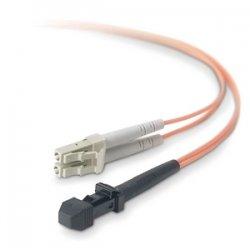 Belkin / Linksys - F2F202L9-05M - Belkin Fiber Optic Duplex Patch Cable - MT-RJ Male - LC Male - 16.4ft - Orange
