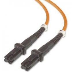 Belkin / Linksys - F2F20299-02M - Belkin Fiber Optic Duplex Patch Cable - MT-RJ Male - MT-RJ Male - 6.56ft - Orange