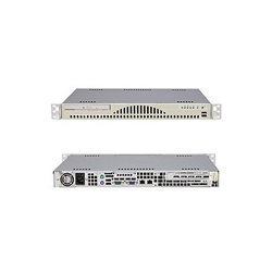 Supermicro - AS-1011S-MR2 - Supermicro A+ Server 1011S-MR2 Barebone System - ServerWorks HT1000 - Socket 940 - Opteron (Dual-core) - 800MHz Bus Speed - 8GB Memory Support - CD-Reader (CD-ROM) - Gigabit Ethernet - 1U Rack