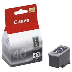 Canon - 0615B013 - Canon PG-40 Twin Pack Black Ink Cartridge - Inkjet - Black