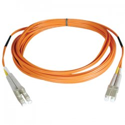 Tripp Lite - N520-152M - Tripp Lite 152M Duplex Multimode 50/125 Fiber Optic Patch Cable LC/LC 500' 500ft 152 Meter - (LC/LC), 152M (500-ft.)""