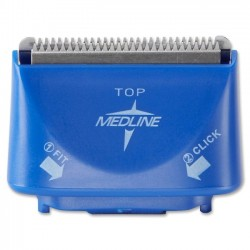 Medline - DYND70850 - Medline Clipper Blade - Latex-free - 50 / Box - Blue