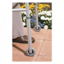 Medline - G07731-8 - Medline 3 Wheel For Walkers - 3 Diameter