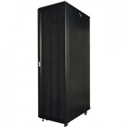 "Rack Solution - RACK-151-22U - Innovation Server Rack Cabinet - 19"" 22U Wide - Black - Steel - 2000 lb x Maximum Weight Capacity"