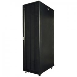 "Rack Solution - RACK-151-27U - Innovation Server Rack Cabinet - 19"" 27U Wide - Black - 2000 lb x Maximum Weight Capacity"