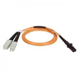 Tripp Lite - N310-08M - Tripp Lite 8M Duplex Multimode 62.5/125 Fiber Optic Patch Cable MTRJ/SC 26' 26ft 8 Meter - MT-RJ Male - SC Male - 26.25ft - Orange