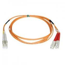 Tripp Lite - N316-21M - Tripp Lite 21M Duplex Multimode 62.5/125 Fiber Optic Patch Cable LC/SC 69' 69ft 21 Meter - SC Male - LC Male - 68.9ft - Orange
