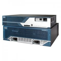 Cisco - CISCO3825-DC-RF - Cisco 3825 Integrated Services Router - 1 x SFP (mini-GBIC), 4 x PVDM - 2 x 10/100/1000Base-T LAN, 2 x USB