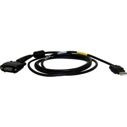 Honeywell - 7600-USB E - Honeywell Charging and Communication Cable - Type A Male USB - Proprietary - Black