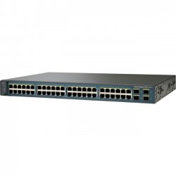 Cisco - WS-C3560V248TSS-RF - Cisco Catalyst 3560V2-48TS Layer 3 Switch - 48 Ports - Manageable - Refurbished - 4 x Expansion Slots - 10/100Base-TX - 48 x Network, 4 x Expansion Slot - 4 x SFP Slots - 3 Layer Supported - 1U High