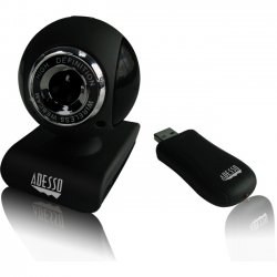 Adesso / ADS Technologies - CYBERTRACK V10 - Adesso CyberTrack V10 Webcam - 0.3 Megapixel - 25 fps - USB 2.0 - 1.3 Megapixel Interpolated - 640 x 480 Video - CMOS Sensor - Manual Focus - Microphone