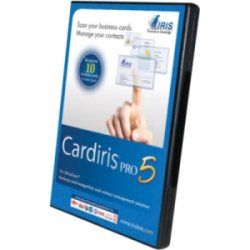 IRIS - 456819 - IRIS Cardiris v.5.0 Pro - Scan your business cards. Recognize and manage your contacts